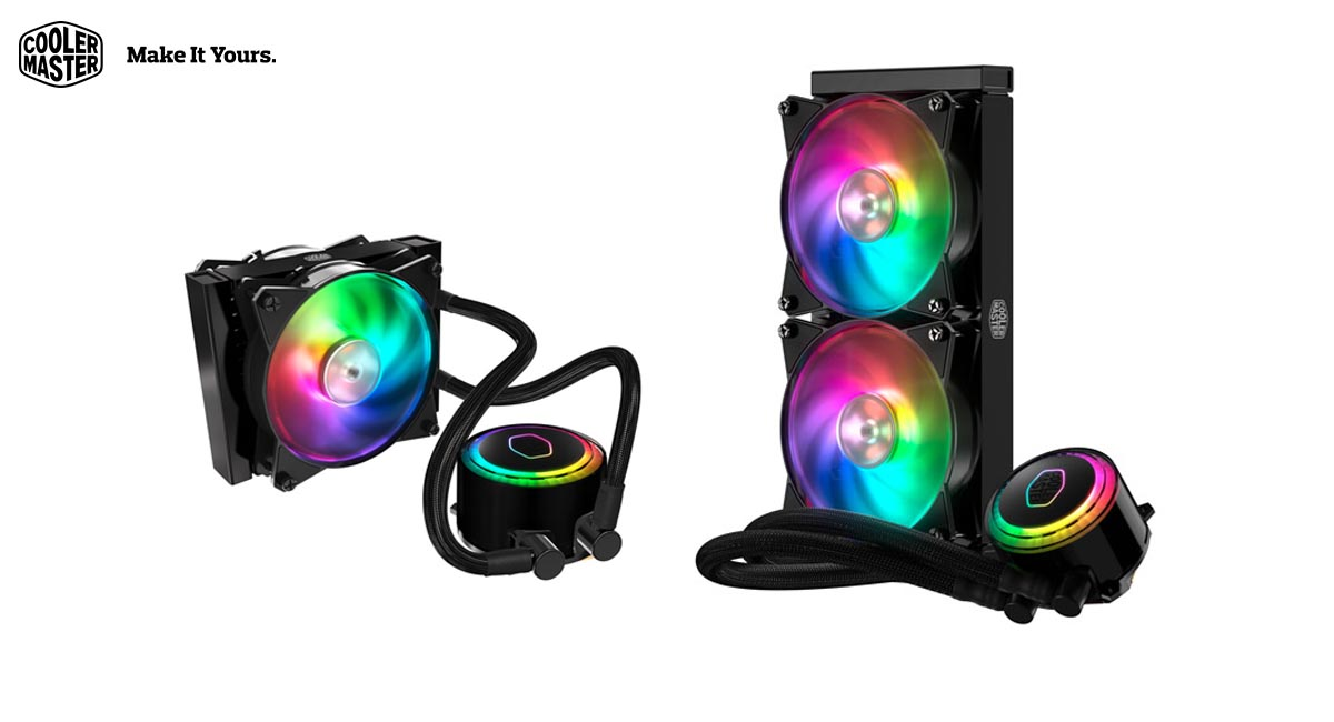 Cooler Master Releases MasterLiquid ML240R RGB and ML120R