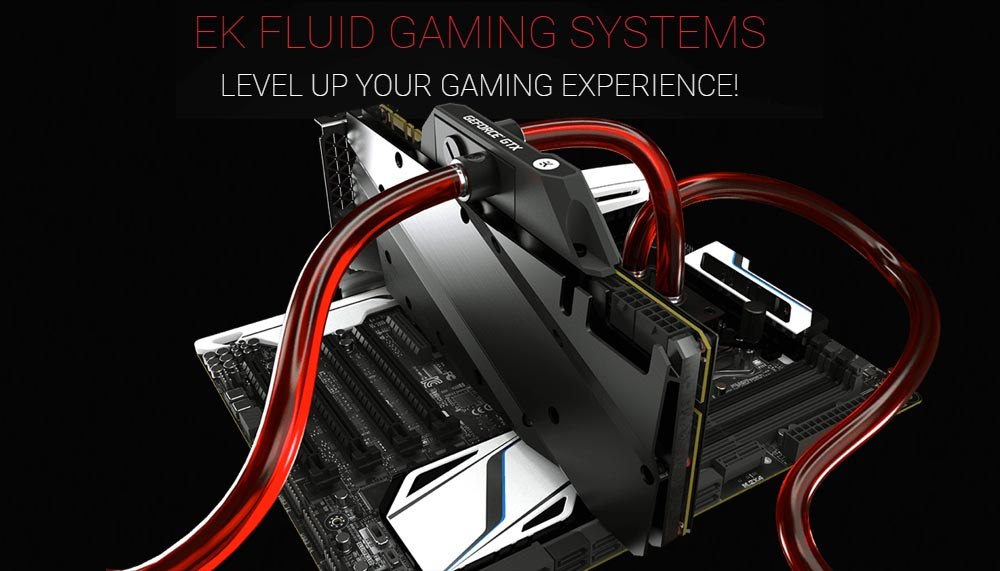 EK Fluid Gaming Systems: Pre-Built Liquid Cooled Gaming PCs
