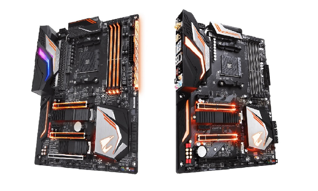 EKWB Presents Two Monoblocks For GIGABYTE AORUS X470