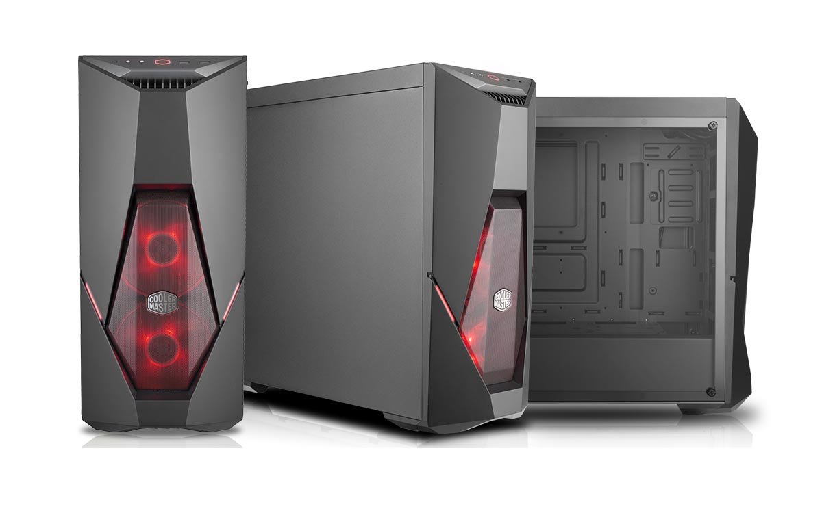 c6626c9f2aa Cooler Master Outs Master MasterBox E500L and K500L Cases