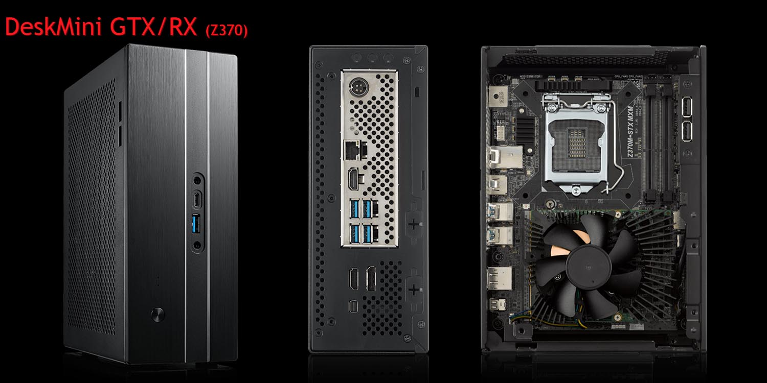 ASRock Introduces Next-Gen DeskMini GTX with New Micro STX