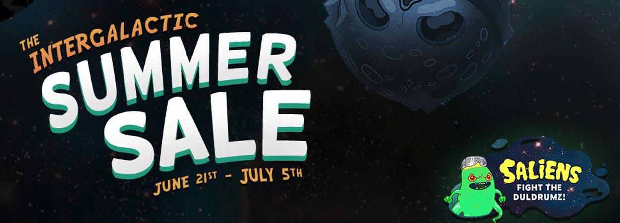 Steam's Intergalactic Summer Sale Begins