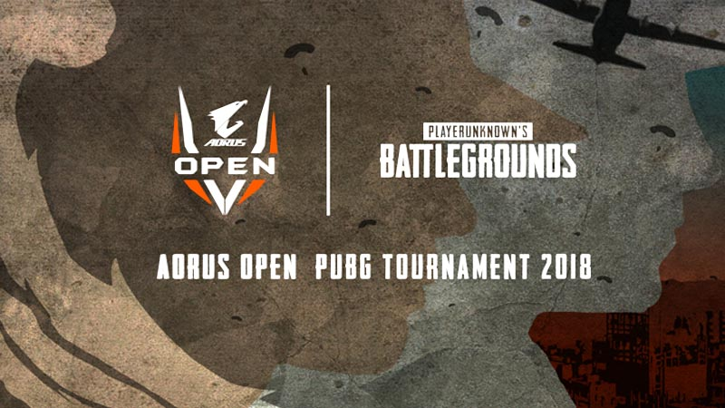 GIGABYTE Launches AORUS OPEN PUBG Tournament 2018 with $45K