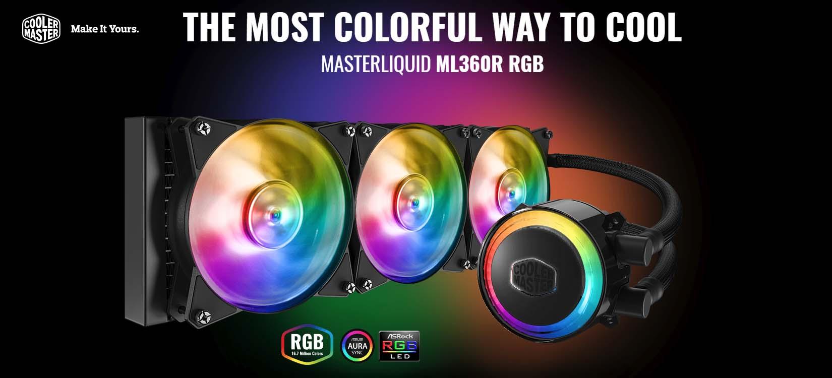 Cooler Master Intros MasterLiquid ML360R Liquid CPU Cooler