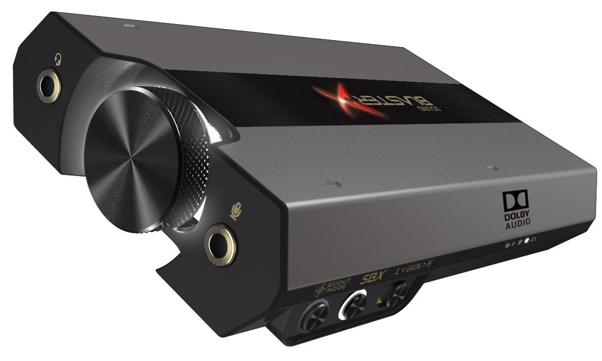 Creative Amp Up Their USB DAC Range With The Sound BlasterX G6