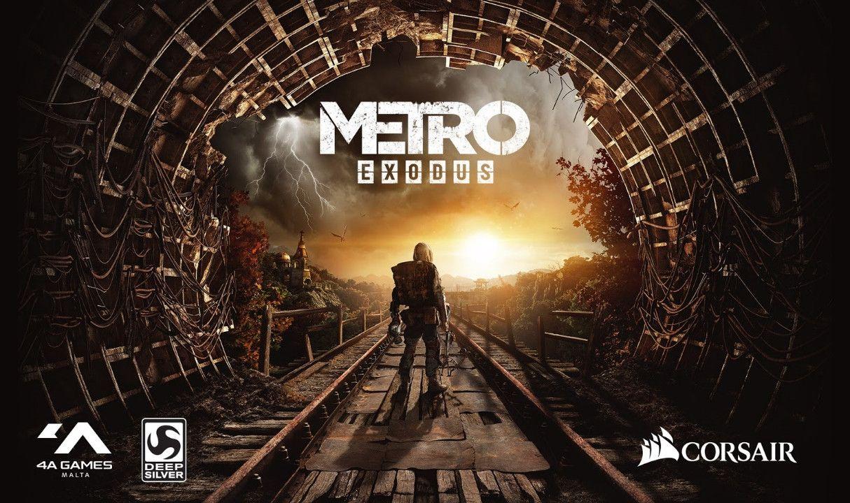 Metro Exodus To Integrate Reactive Corsair iCUE Lighting Effects