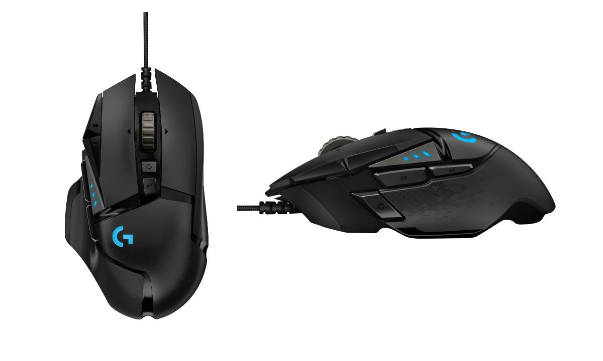 Logitechs G502 Gaming Mouse Gets A Heroic Upgrade Logitech G512 Rgb Mechanical Keyboard Gx Blue