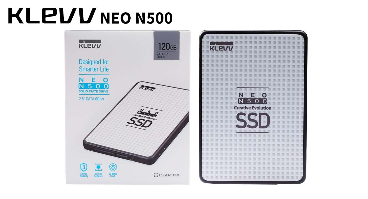 KLEVV Outs NEO N500 Powered by SK Hynix 3D 72-Layer NAND Flash