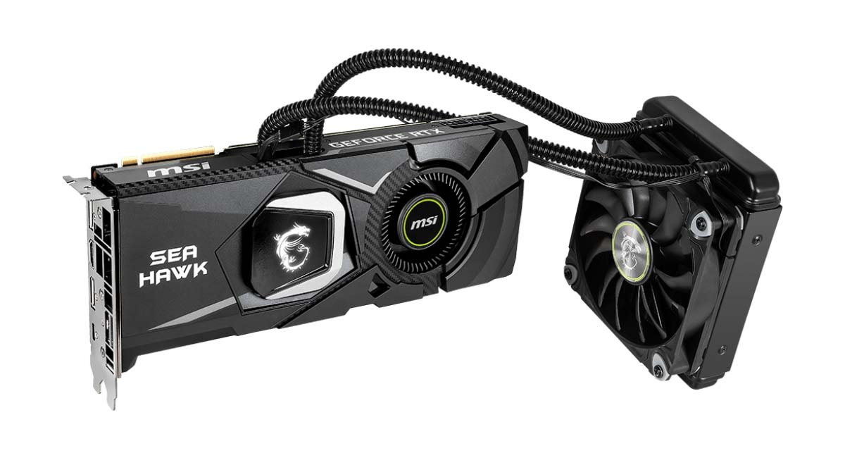 MSI Presents GeForce RTX 2080 Ti and RTX 2080 Sea Hawk