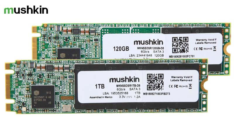 Mushkin Adds Source M 2 SATA Solid-State Drives
