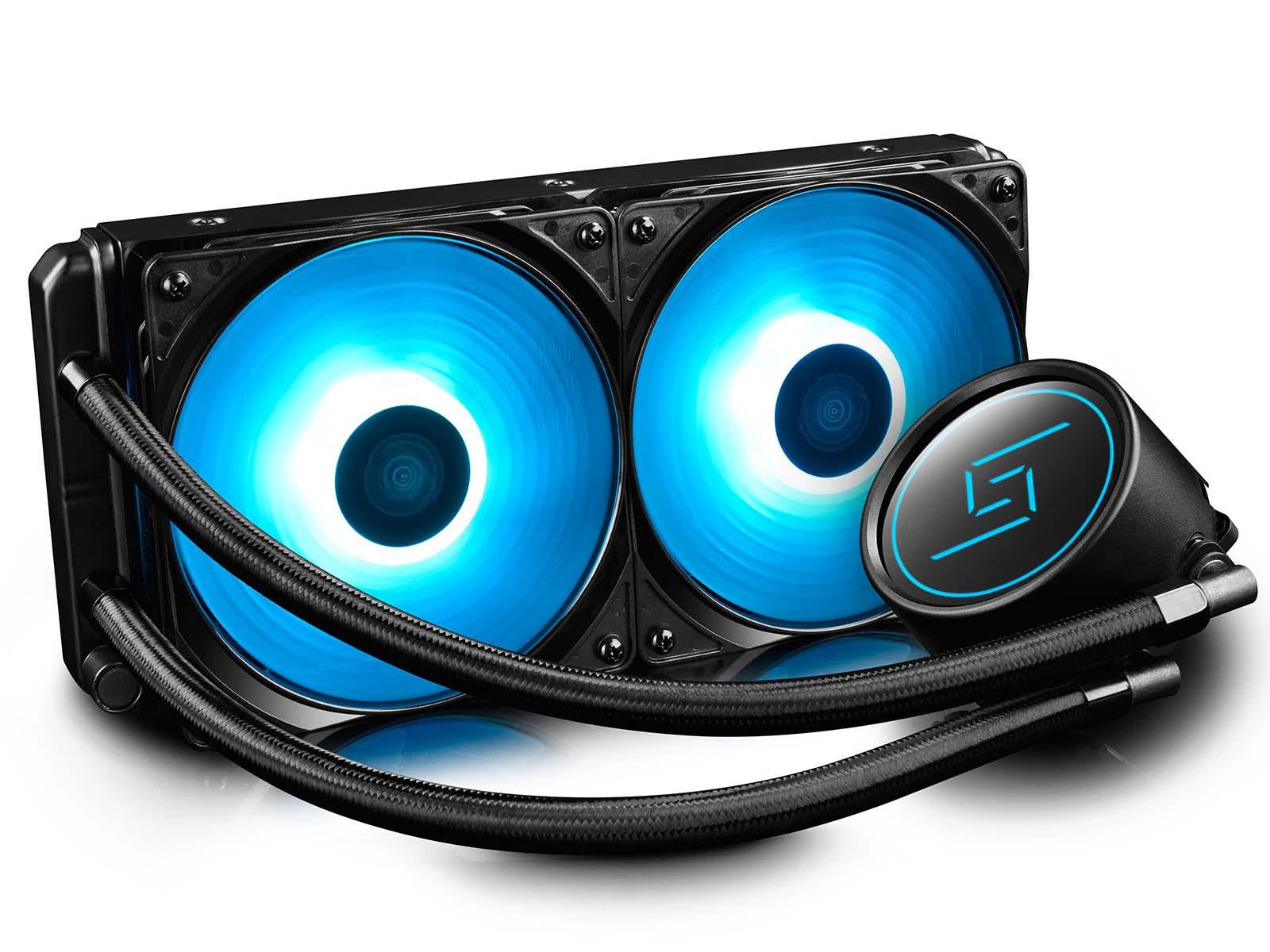 DEEPCOOL Presents Gammaxx L240 AIO Liquid CPU Cooler