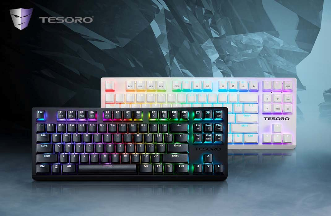 Tesoro Presents GRAM Spectrum TKL Keyboard