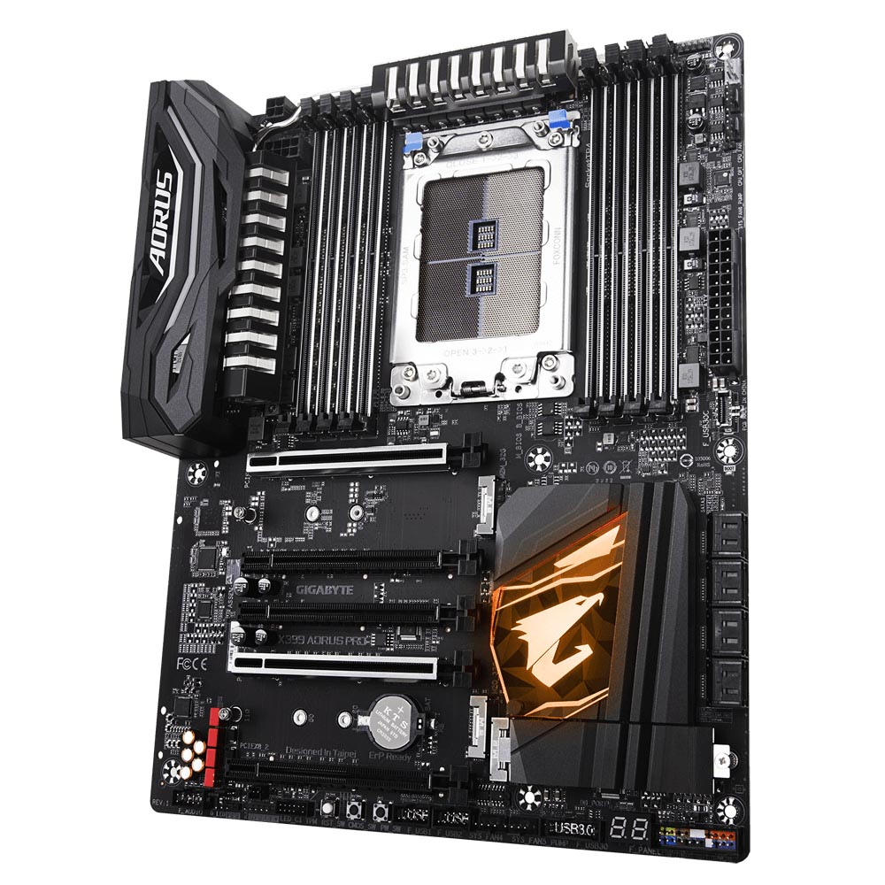 GIGABYTE X399 AORUS PRO – Cheapest AMD X399 Motherboard