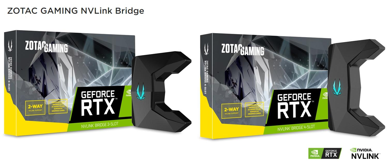 ZOTAC Teases Own ZOTAC GAMING NVLink Bridges