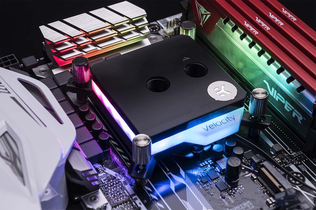 EKWB Releases Velocity D-RGB CPU Waterblocks with Addressable RGB