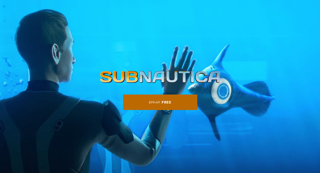 Epic Games Offers Subnautica Free As A Store Sweetner
