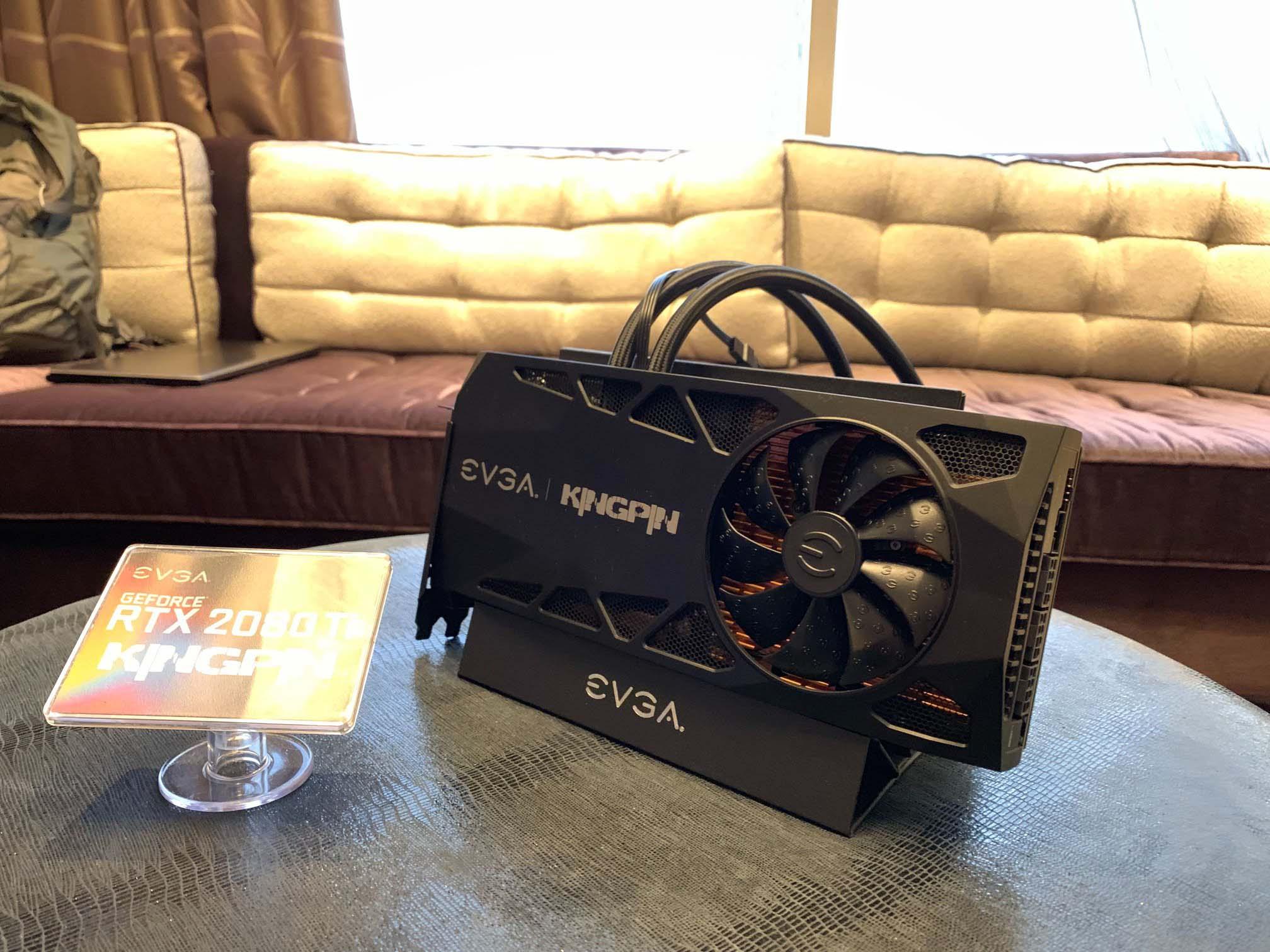 EVGA Introduces Z390 DARK Motherboard and RTX 2080Ti Kingpin Edition