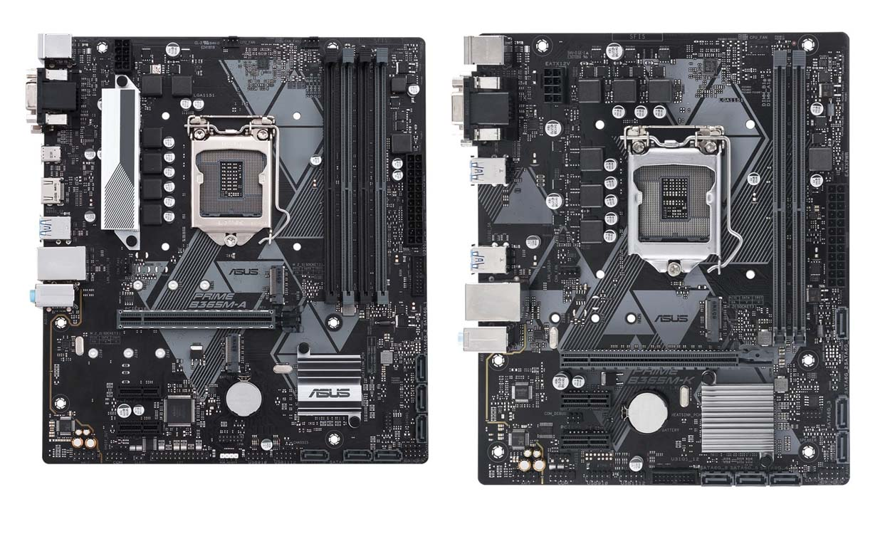 ASUS Rolls Out Intel B365 Chipset Motherboards