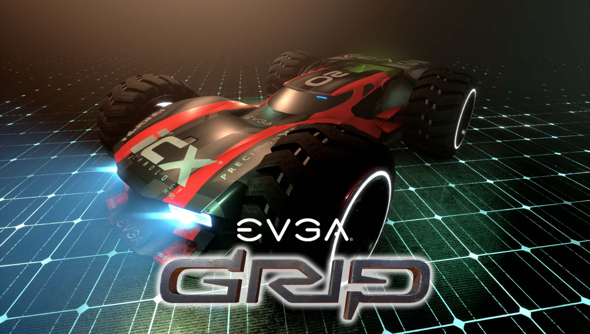 EVGA Bundles GRIP: Combat Racing Game and Skin with EVGA