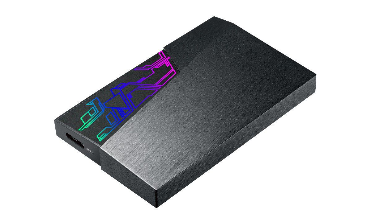 ASUS Aura Sync Lighting Now To Appear On External HDDs