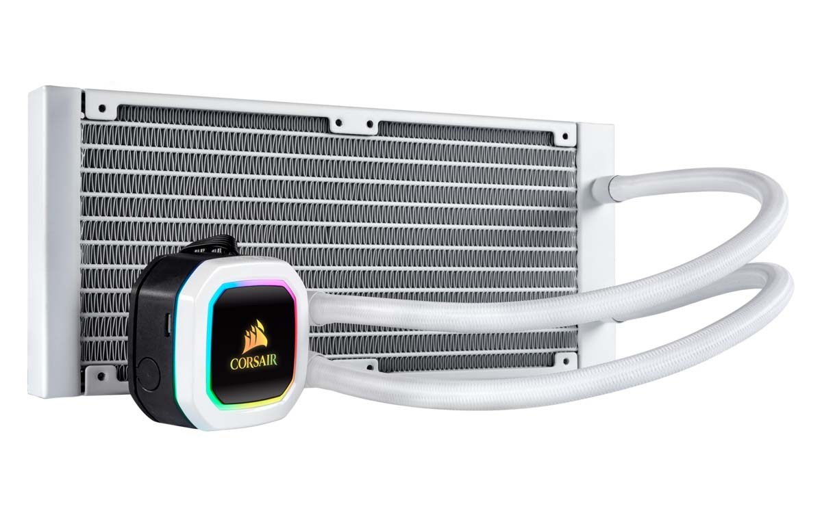 CORSAIR To Release Hydro Series H100i RGB Platinum SE White Edition