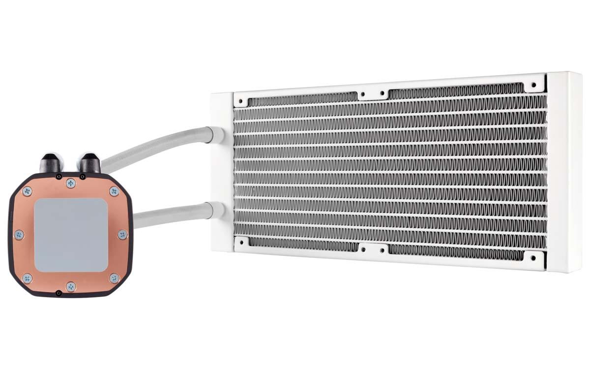 CORSAIR To Release Hydro Series H100i RGB Platinum SE White