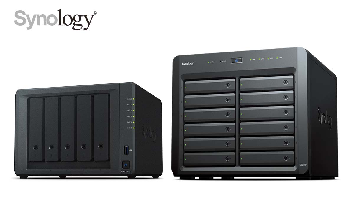 Synology Outs DiskStation DS1019+ and DiskStation DS2419+