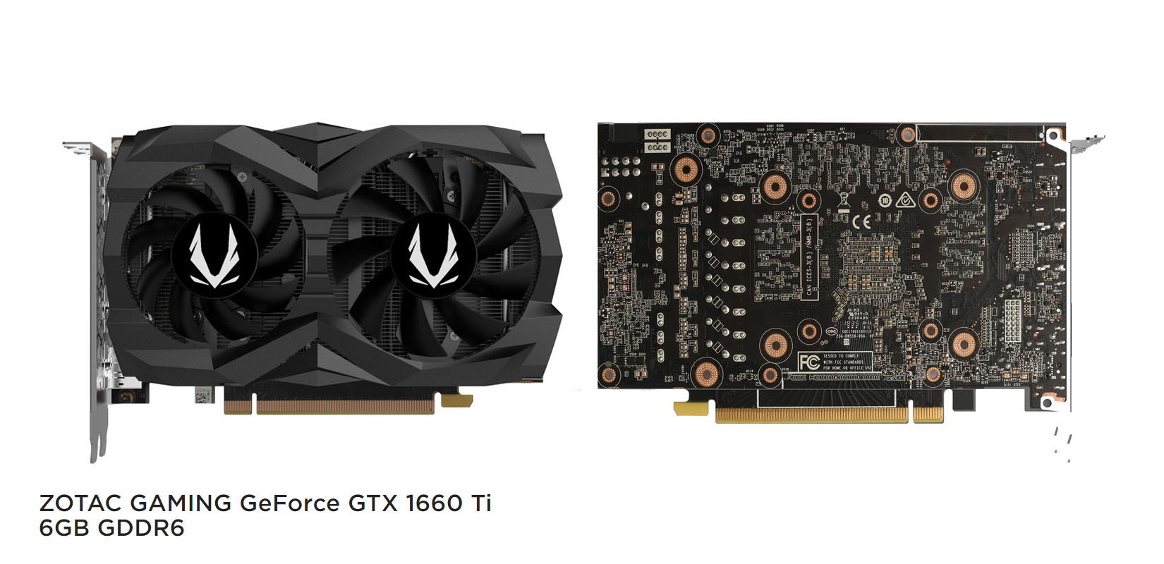 ZOTAC Outs GAMING GeForce GTX 1660 Ti Graphics Cards