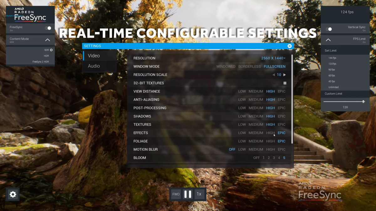 AMD Reveal The 'Oasis' FreeSync 2 HDR Demo