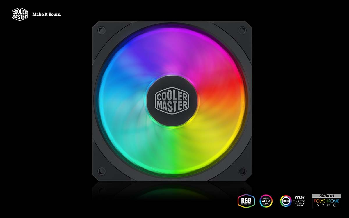 Cooler Master Presents MasterFan SF Series Fans