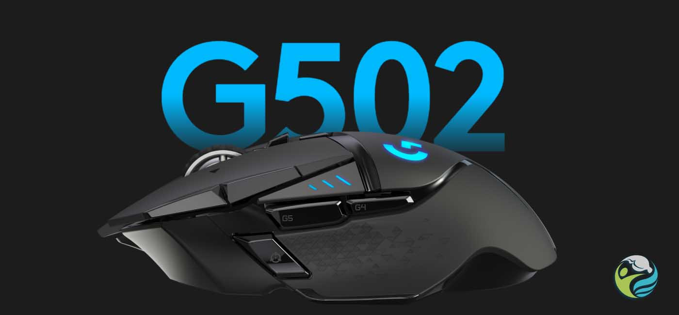 Logitech G Presents G502 Lightspeed Wireless Gaming Mouse