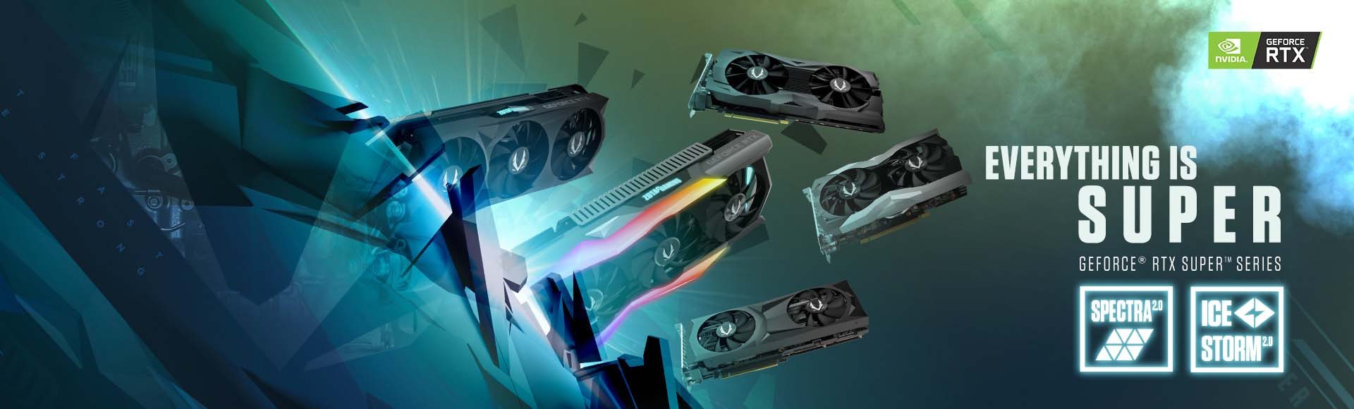 ZOTAC Introduces Its GeForce RTX SUPER Series Graphics Cards