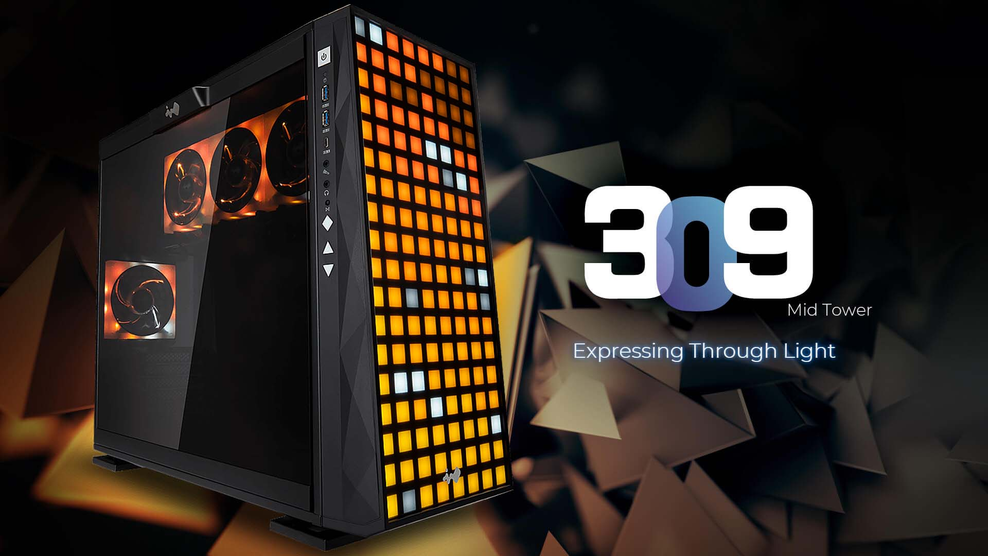 InWin Presents Upgrade 309 Chassis with EGO ARGB Fans and GLOW 2