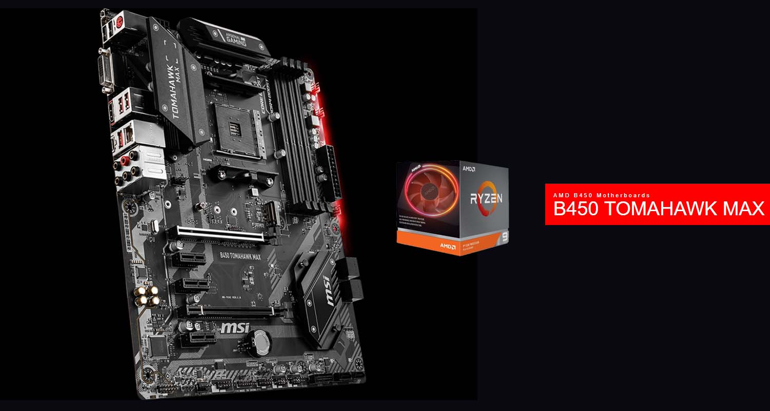MSI Outs B450 MAX Edition Motherboards with Support For Ryzen 3000