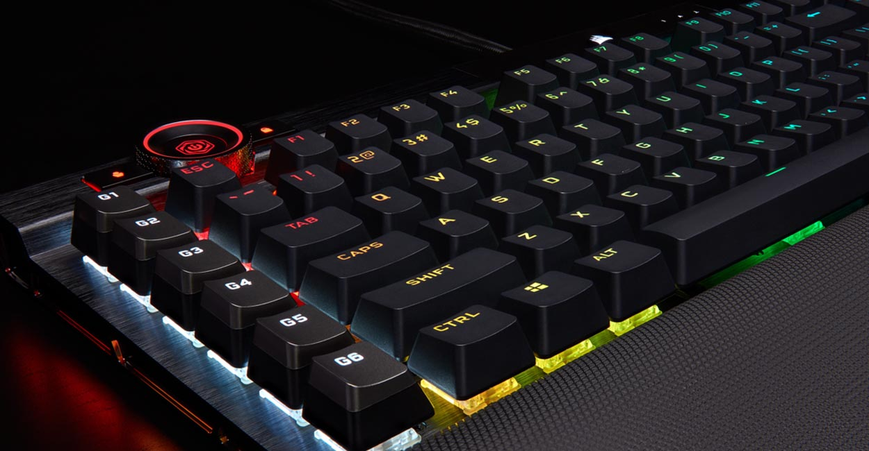 CORSAIR Introduces K100 RGB Mechanical Gaming Keyboard