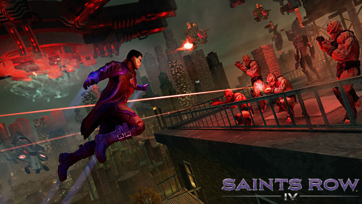 Saints Row IV Coming To AMD Rewards  Because They Never Settle