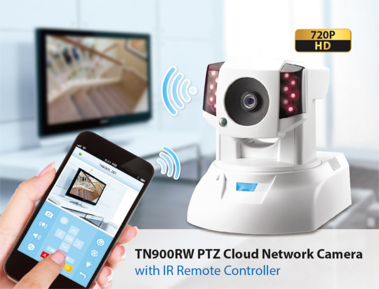 Compro Release The TN900RW Cloud IP Camera