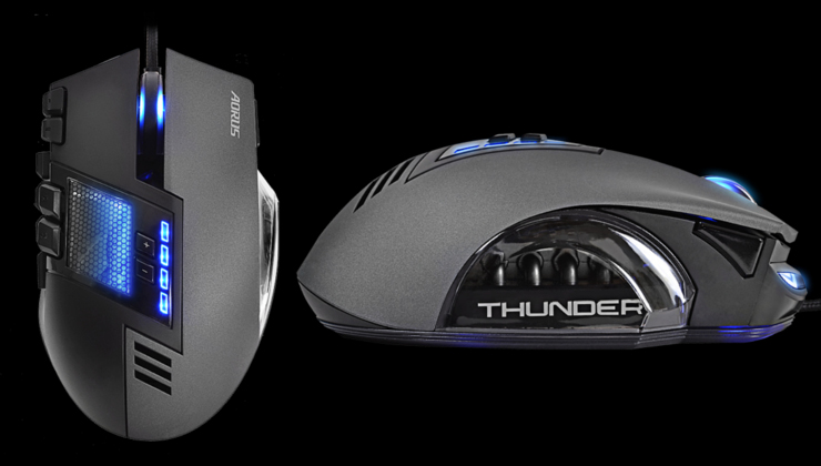 AORUS THUNDER M7 MMO Gaming Mouse Availability Announced