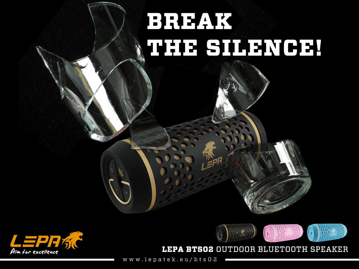 LEPA Announces The BTS02 Portable Speaker