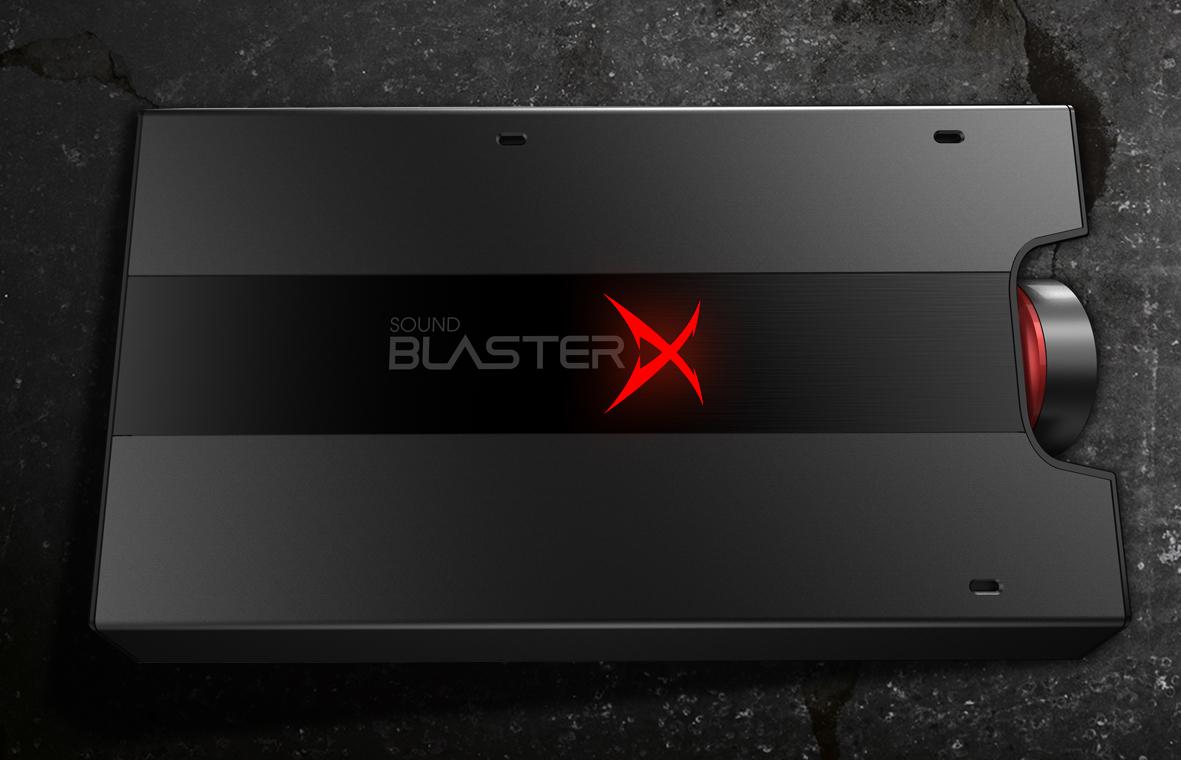 Creative Launch Sound Blaster X - Pro Gaming Audio Gear