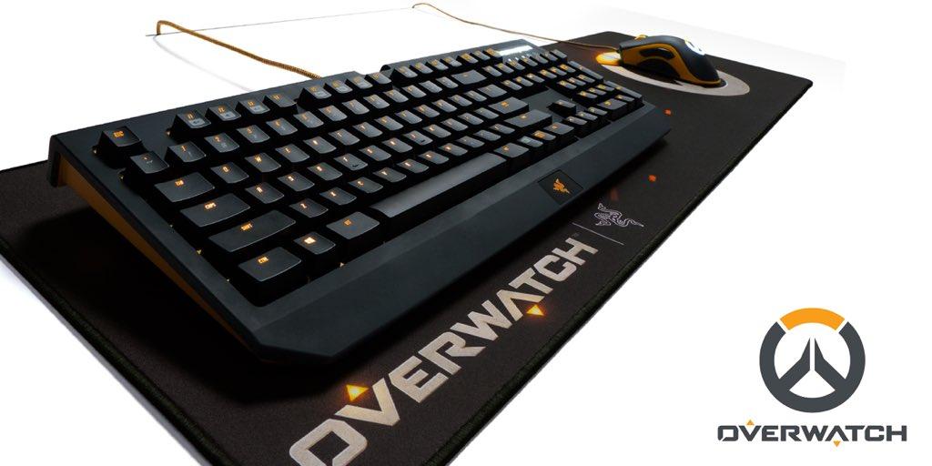 Razer Tease Overwatch Themed Peripherals