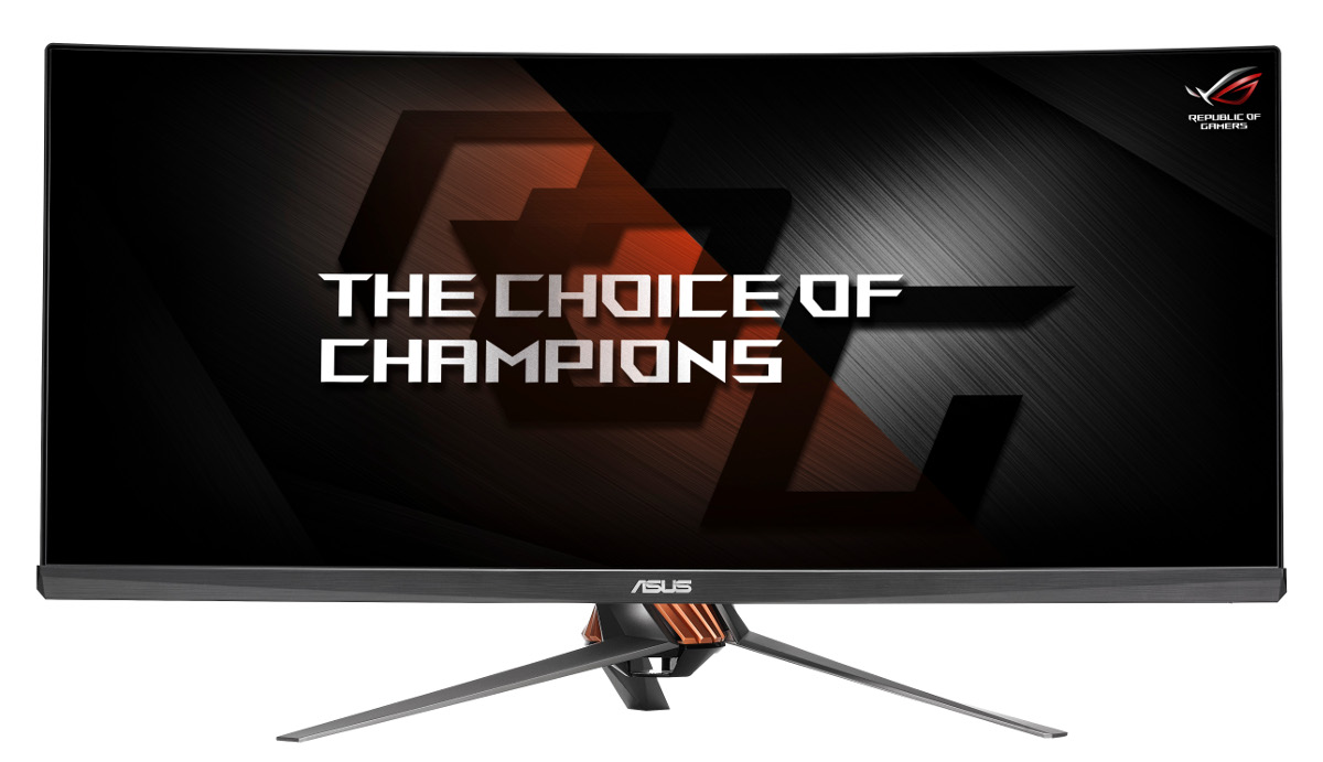 ASUS ROG SWIFT PG348Q 34 - choice of champs