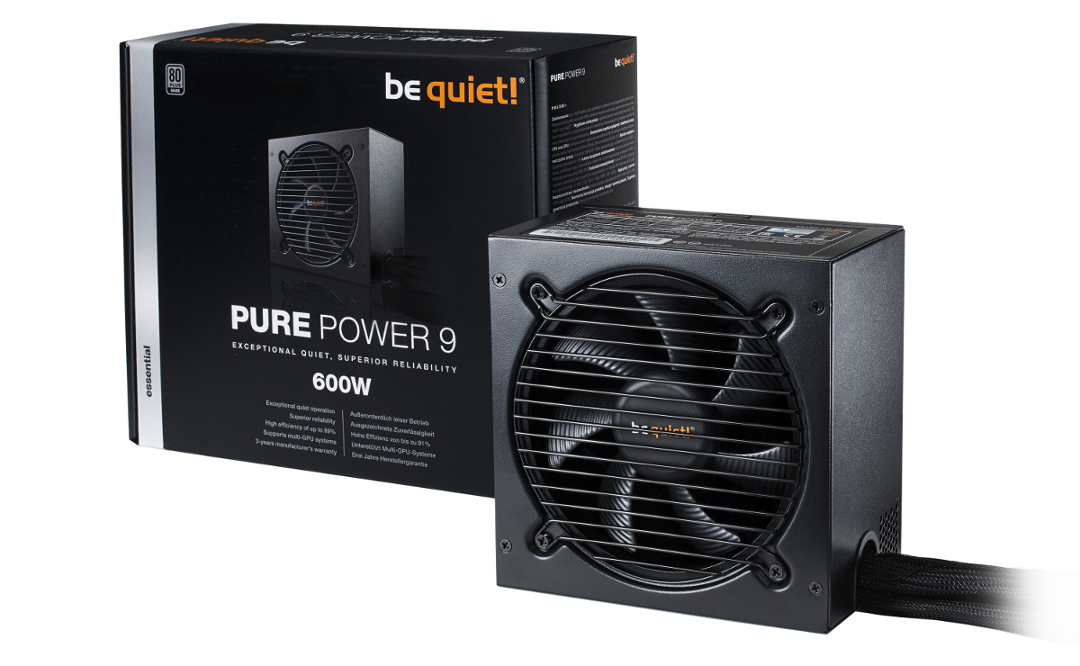 Be Quiet! Adds Non-Cable Managed Pure Power 9 PSU Models