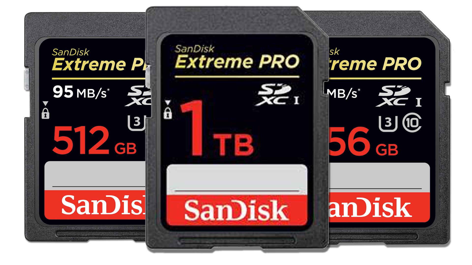 Western Digital Unveils Sandisk 1tb Sdxc Card
