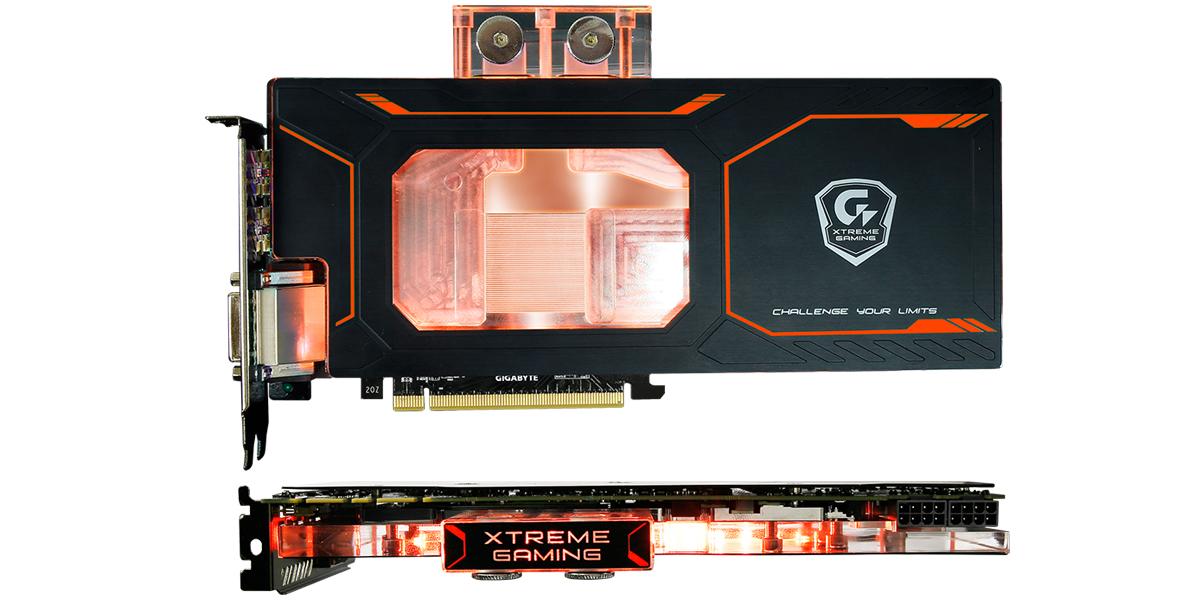 GIGABYTE GTX 1080 Xtreme Gaming WATERFORCE WB 8G Revealed