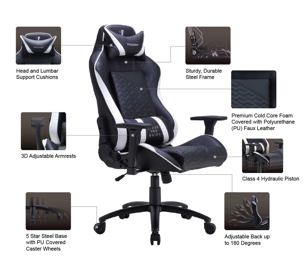 Wondrous Tesoro Opens New Product Line The Zone Balance Gaming Chair Cjindustries Chair Design For Home Cjindustriesco