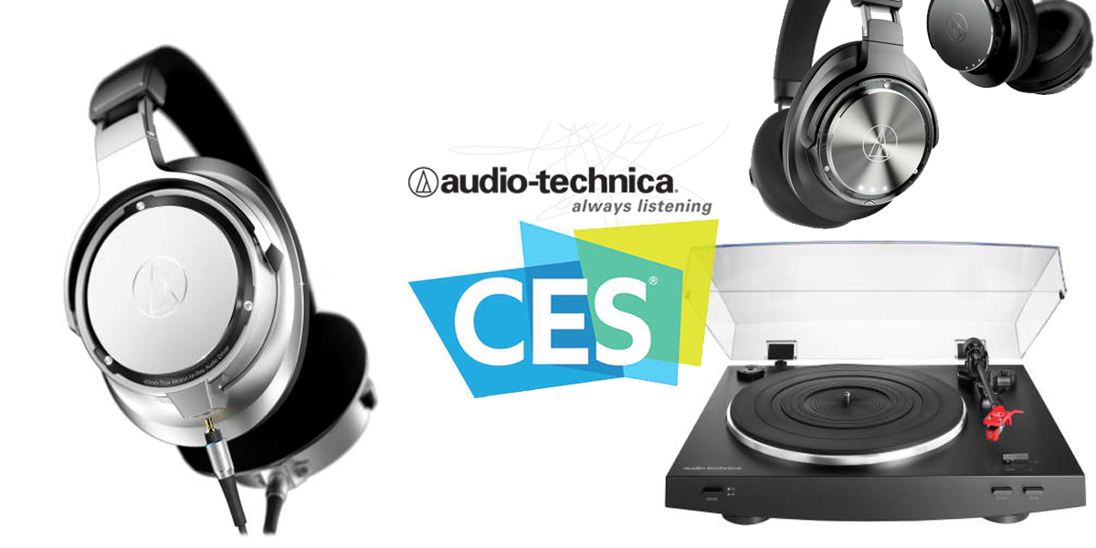 Audio technica demonstrates new headphones turntables phono audio technica demonstrates new headphones turntables phono cartridges wireless headphones and more at ces 2017 sciox Image collections