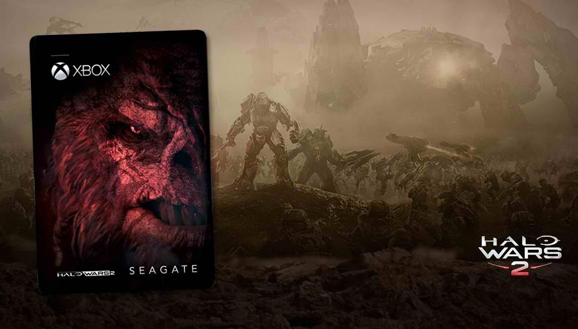 Seagate Outs Game Drive for Xbox Halo Wars 2 Special Edition