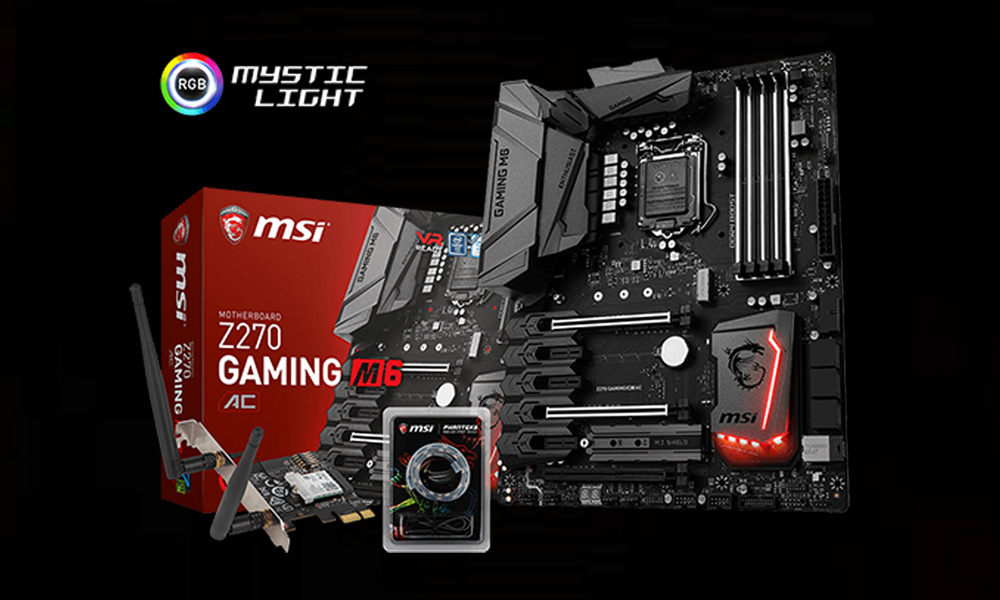 MSI Releases Z270 Gaming M6 AC Motherboard