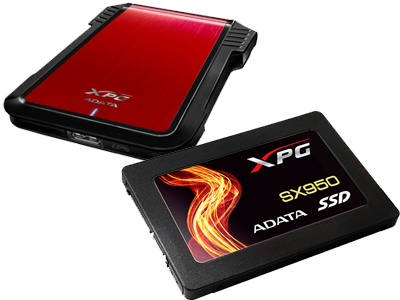 ADATA XPG SX950 SSD and EX500 Enclosure Introduced